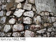 Стена из камней. Стоковое фото, фотограф Илларионов Андрей / Фотобанк Лори