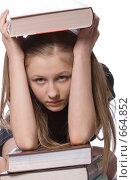 Купить «Готовимся к экзаменам», фото № 664852, снято 20 января 2009 г. (c) Ольга Кедрова / Фотобанк Лори