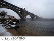 Мост на реке Днепр. Стоковое фото, фотограф вадим забудько / Фотобанк Лори