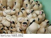 Матрешки хохлома. Стоковое фото, фотограф Светлана Архи / Фотобанк Лори