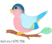 Купить «Птица», иллюстрация № 670156 (c) Ivan Markeev / Фотобанк Лори