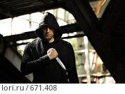 Купить «Мужчина с кинжалом», фото № 671408, снято 13 июля 2008 г. (c) Raev Denis / Фотобанк Лори