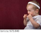 Купить «Маленькая девочка», фото № 673840, снято 9 января 2009 г. (c) Александр Чистяков / Фотобанк Лори