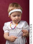 Купить «Маленькая фея», фото № 673872, снято 9 января 2009 г. (c) Александр Чистяков / Фотобанк Лори
