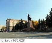 Купить «Площадь революции - Челябинск», фото № 676628, снято 5 октября 2008 г. (c) Алексей Стоянов / Фотобанк Лори