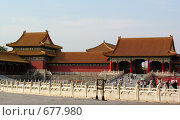 Купить «Запретный город. Пекин. Китай», фото № 677980, снято 6 сентября 2007 г. (c) Екатерина Овсянникова / Фотобанк Лори
