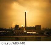 Старая фабрика в Санкт-Петербурге (2008 год). Стоковое фото, фотограф Константин Хрипунков / Фотобанк Лори