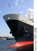 Купить «Севастополь, корабль», эксклюзивное фото № 681208, снято 16 сентября 2008 г. (c) Дмитрий Неумоин / Фотобанк Лори