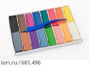 Купить «Коробка с пластилином», эксклюзивное фото № 681496, снято 14 октября 2008 г. (c) Александр Щепин / Фотобанк Лори