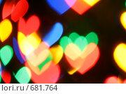 Купить «Боке в форме сердец», фото № 681764, снято 21 марта 2019 г. (c) Роман Сигаев / Фотобанк Лори