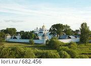 Купить «Суздаль, Покровский монастырь», фото № 682456, снято 10 июня 2007 г. (c) Михаил Белков / Фотобанк Лори