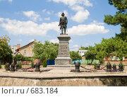Купить «Памятник Петру I . Таганрог», фото № 683184, снято 8 июля 2007 г. (c) Vitas / Фотобанк Лори