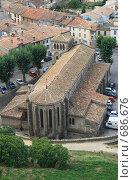 Купить «Церковь в городе Каркассон. Франция», фото № 686676, снято 18 сентября 2008 г. (c) АЛЕКСАНДР МИХЕИЧЕВ / Фотобанк Лори