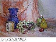 Купить «Фотография написанного натюрморта», иллюстрация № 687020 (c) Вальченко Любовь / Фотобанк Лори