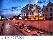 Купить «Москва. Городской пейзаж», эксклюзивное фото № 687036, снято 5 декабря 2008 г. (c) lana1501 / Фотобанк Лори