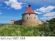 Крепость Орешек (2008 год). Редакционное фото, фотограф Levin Alexandr / Фотобанк Лори