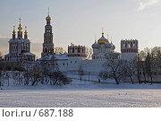 Новодевичий монастырь. Стоковое фото, фотограф Levin Alexandr / Фотобанк Лори