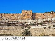 Купить «Иерусалим. Золотые ворота», фото № 687424, снято 16 августа 2018 г. (c) Сергей Лебедев / Фотобанк Лори