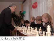 Купить «Сеанс одновременной игры», фото № 687812, снято 10 октября 2008 г. (c) Игорь Бунцевич / Фотобанк Лори