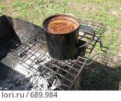 Походный кофе. Стоковое фото, фотограф юлия юрочка / Фотобанк Лори