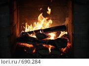 Огонь. Стоковое фото, фотограф юлия юрочка / Фотобанк Лори