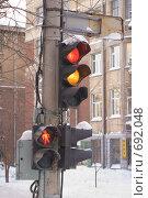 Светофор. Стоковое фото, фотограф Андрей Сверкунов / Фотобанк Лори