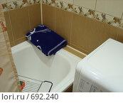 Интерьер ванной комнаты. Стоковое фото, фотограф Венюков Вячеслав / Фотобанк Лори