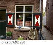Голландский стиль (окно) (2005 год). Стоковое фото, фотограф Murat Valiev / Фотобанк Лори