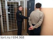 Купить «Следственный изолятор», фото № 694968, снято 7 февраля 2009 г. (c) fotobelstar / Фотобанк Лори