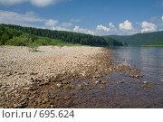 Купить «Берег реки Вишеры», фото № 695624, снято 12 июля 2008 г. (c) Максим Стриганов / Фотобанк Лори