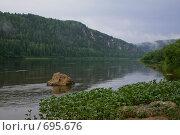 Купить «Дымка после грозы на Вишере», фото № 695676, снято 13 июля 2008 г. (c) Максим Стриганов / Фотобанк Лори