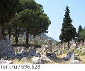 Купить «Руины Эфеса», фото № 696528, снято 9 июня 2004 г. (c) Дмитрий Глебов / Фотобанк Лори