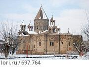 Купить «Храм в Эчимадзине», фото № 697764, снято 4 января 2009 г. (c) Тихонов Алексей / Фотобанк Лори