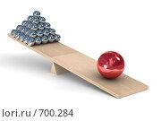 Купить «Баланс», иллюстрация № 700284 (c) Ильин Сергей / Фотобанк Лори