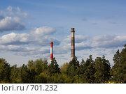 Две трубы. Стоковое фото, фотограф Евгений Булатов / Фотобанк Лори