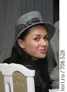 Купить «Знаменитости.Заслуженная артистка России Анастасия Заворотнюк.», фото № 708528, снято 16 декабря 2017 г. (c) Gagara / Фотобанк Лори
