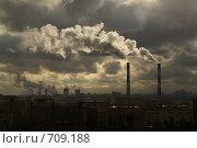 Купить «Промышленный пейзаж», фото № 709188, снято 10 апреля 2006 г. (c) Наталья Качурина / Фотобанк Лори