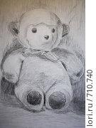 Купить «Медведь», иллюстрация № 710740 (c) Вальченко Любовь / Фотобанк Лори