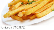 Купить «Картофель фри», фото № 710872, снято 21 января 2009 г. (c) Алексей Лобанов / Фотобанк Лори
