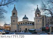 Купить «Иоанно-Предтеченский женский монастырь в Москве», эксклюзивное фото № 711720, снято 19 февраля 2009 г. (c) lana1501 / Фотобанк Лори