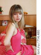 Купить «У девушки проблема со здоровьем», фото № 714480, снято 21 февраля 2009 г. (c) Татьяна Лепилова / Фотобанк Лори