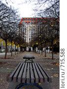 Парк в Берлине (2008 год). Стоковое фото, фотограф Елена Панова / Фотобанк Лори