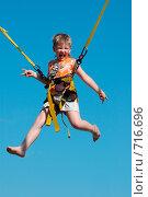 Купить «Мальчик на аттракционе в парке», фото № 716696, снято 19 июля 2008 г. (c) Игорь Бунцевич / Фотобанк Лори