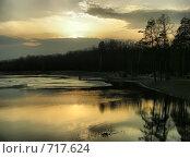 Купить «Бабаевский пруд, Лосиный остров, район Гольяново, Москва», эксклюзивное фото № 717624, снято 6 апреля 2008 г. (c) lana1501 / Фотобанк Лори