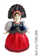 Купить «Кукла в русском национальном костюме», фото № 720344, снято 22 февраля 2020 г. (c) Анастасия Семенова / Фотобанк Лори