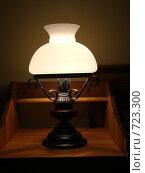 Старинная лампа. Стоковое фото, фотограф Юлия Анатольевна / Фотобанк Лори