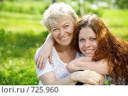 Гармония. Мать и взрослая дочь. Стоковое фото, фотограф Raev Denis / Фотобанк Лори