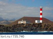 Маяк на южном берегу острова Тенерифе (2007 год). Стоковое фото, фотограф Знаменский Олег / Фотобанк Лори