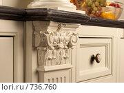 Купить «Элемент мебели», фото № 736760, снято 23 сентября 2008 г. (c) Николай Туркин / Фотобанк Лори