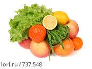 Спелые фрукты. Стоковое фото, фотограф Елена Иценко / Фотобанк Лори
